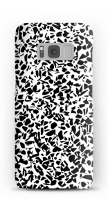 Mustavalkosirpaleet kuoret Galaxy S8