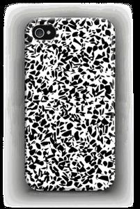 Noir et blanc Coque  IPhone 4/4s