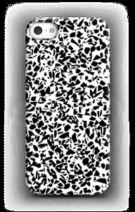 Mustavalkosirpaleet kuoret IPhone 5/5S