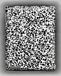 Grafisk Terazzo i svart og hvit deksel IPad 4/3/2