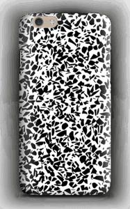 Grafisk Terazzo i svart og hvit deksel IPhone 6
