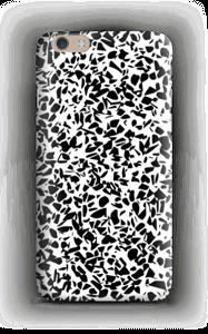 Mustavalkosirpaleet kuoret IPhone 6 Plus