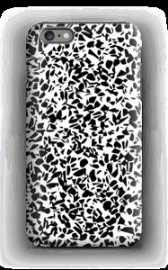 Mustavalkosirpaleet kuoret IPhone 6s Plus tough