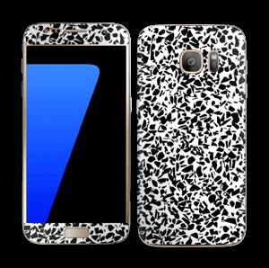 Noir et blanc Skin Galaxy S7