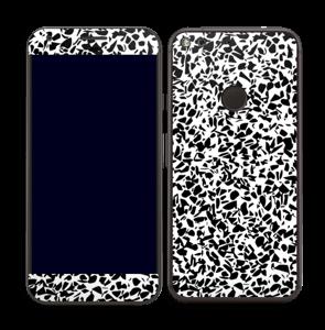 Noir et blanc Skin Pixel XL