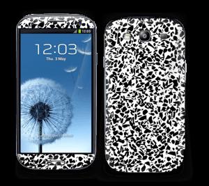 Noir et blanc Skin Galaxy S3