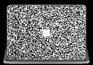 "Grafisk Terazzo i svarthvit Skin MacBook Pro Retina 15"" 2015"