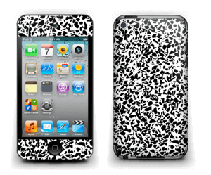 Grafisk Terazzo i svarthvit Skin IPod Touch 4th Gen