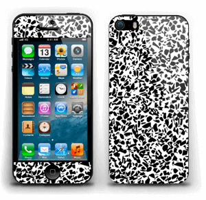 Noir et blanc Skin IPhone 5s