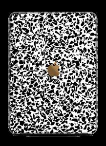 Grafisk Terazzo i svarthvit Skin IPad Pro 12.9