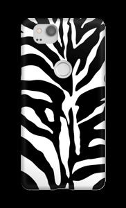 Zebra hoesje Pixel 2