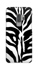 Zebra mönster på ett skal till en iPhone eller Samsung