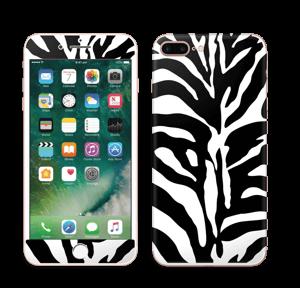 Sebramønster Skin IPhone 7 Plus