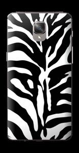 Sebramønster Skin OnePlus 3