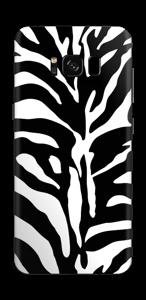 Sebramønster Skin Galaxy S8