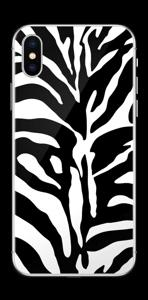 Sebramønster Skin IPhone XS