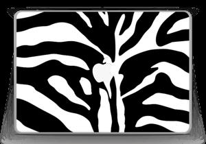 """Sebramønster Skin MacBook Pro 13"""" -2015"""