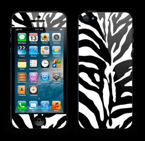 Sebramønster Skin IPhone 5