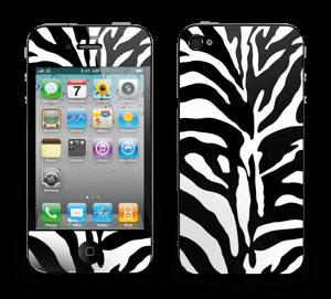 Sebramønster Skin IPhone 4/4s