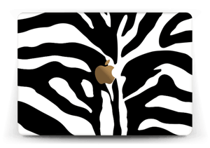 """Sebramønster Skin MacBook 12"""""""