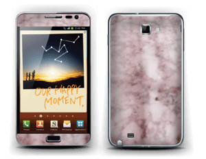 More pink marble Skin Galaxy Note