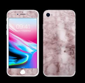 Rosa marmordrøm Skin IPhone 8