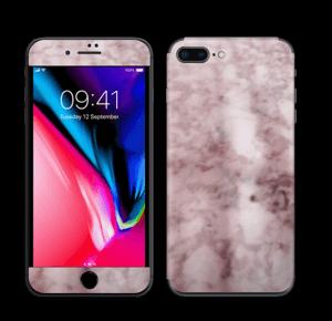 Rosa marmordrøm Skin IPhone 8 Plus