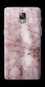 Rosa marmordrøm Skin OnePlus 3