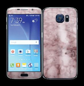 Rosa marmordrøm Skin Galaxy S6