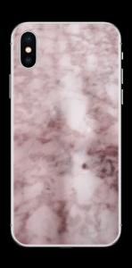 Rosa marmordrøm Skin IPhone X