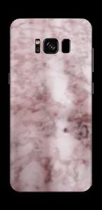 Rosa marmordrøm Skin Galaxy S8