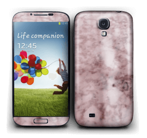 More pink marble Skin Galaxy S4