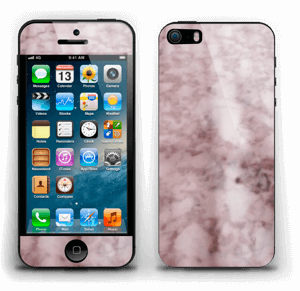 More pink marble Skin IPhone 5s