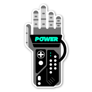 I have the power! sticker
