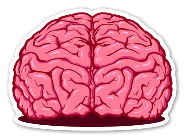 sticker brain