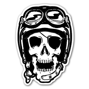 Motorskull sticker