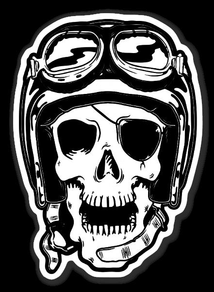 Motorskull sticker
