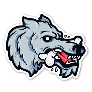 wolfy sticker