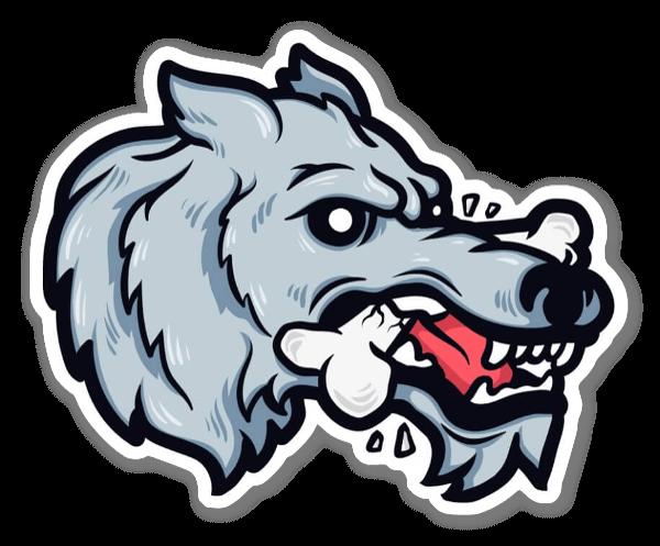 Wolfbites  sticker