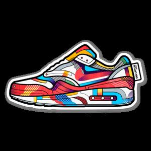 Airmax vivid sneaker sticker