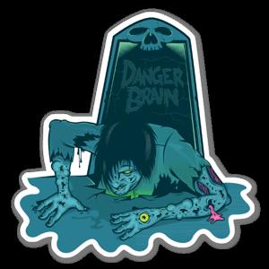 Zombie Zombie  sticker