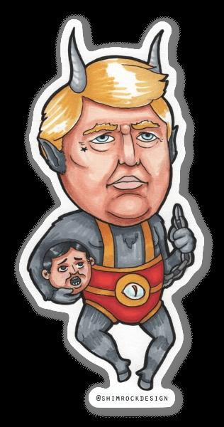 Trumpus  sticker