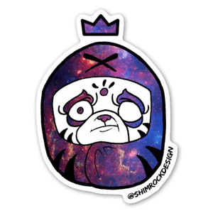 pug galaxy sticker
