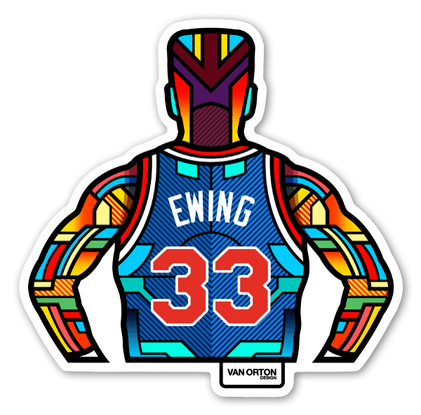 Ewing stickers