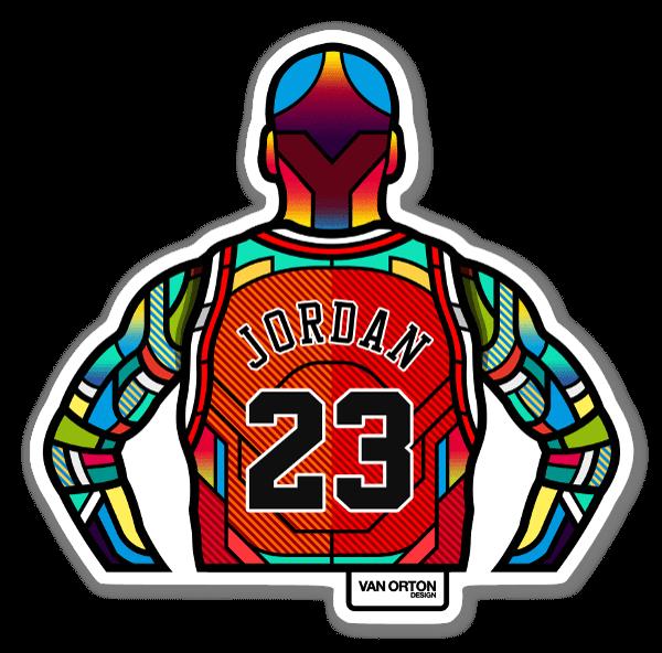 Jordan stickers