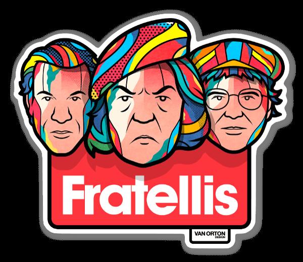 Fratellis sticker