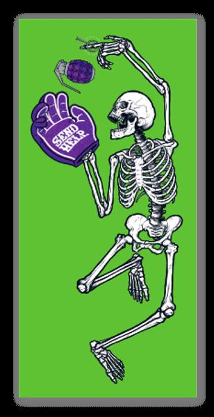 SEND HELP Grave Dance  sticker