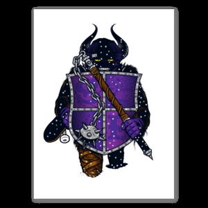 SEND HELP Viking sticker