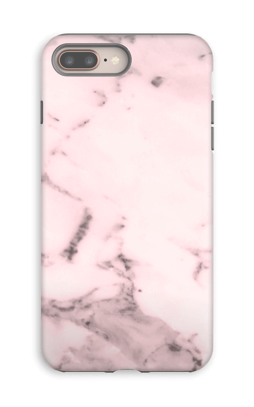 Rosa delicado Capa IPhone 8 Plus tough