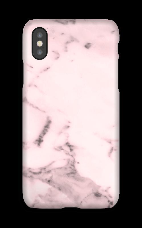 Rosa marmor deksel IPhone X